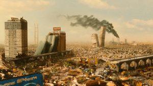 Un Detroit futuriste et en ruine dans Idiocracy