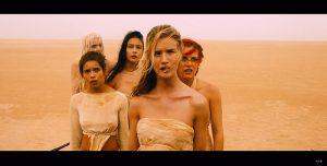 Les femmes d'Immortan Joe dans Mad Max Fury road