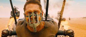 Tom Hardy dans Mad Max Fury road