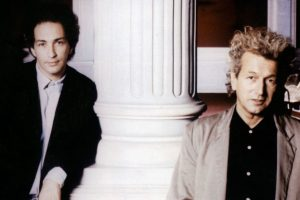 Michel Berger et Luc Plamondon, auteurs de Starmania
