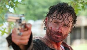 Rick Grimes ensanglanté