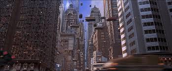 La ville futuriste du cinquième élément