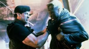 Demolition Man : Silverster Stallone et Wesley Snipes