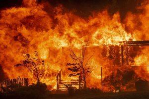Incendie et sécheresses
