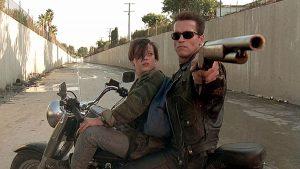 Terminator 2 : le terminator et John Connor