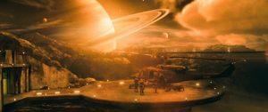 Une colonie proche de Saturne dans La Zone du dehors