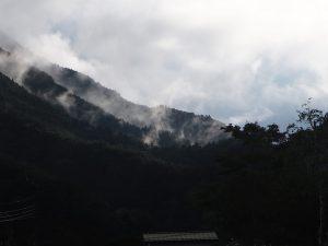 Mont Fuji sous les nuages