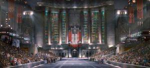 Le Capitole de Panem dans The Hunger games