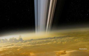 Cassini : les anneaux de Saturne