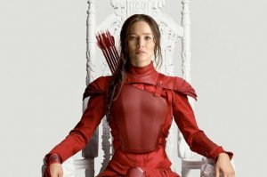 Jennifer Lawrence joue Katniss dans Hunger Games