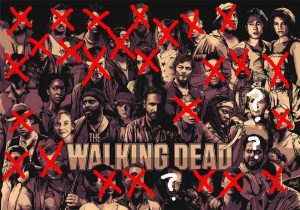 The walking dead, morts