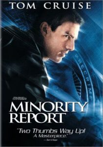 Minority report, Tom Cruise