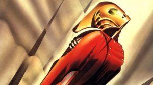 Rocketeer super-héros art nouveau