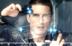 Tom Cruise dans Minority Report
