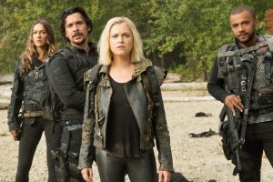 The 100, Clarke et Bellamy