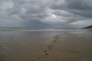Ciel tourmenté d'orage
