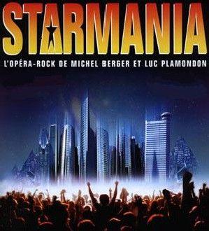 Starmania, affiche 94 Mogador