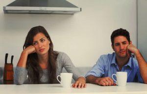 Un couple ennuyeux