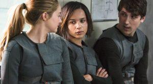 Triss et ses amis dans Divergente