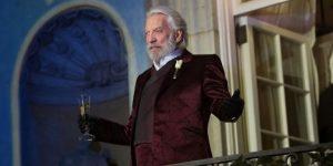 Donald Sutherland, leader charismatique dans Hunger Games