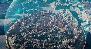 Une ville bulle
