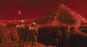 Mars dans Total Recall