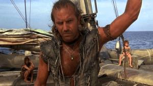Kevin Kostner dans Waterworld