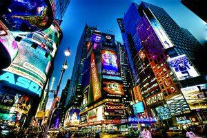 Time Square, royaume de la pub