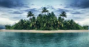 Une île abandonnée