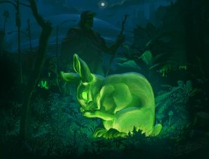 Oryx et Crake : le lapin phosphorescent