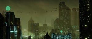 Ville dystopique