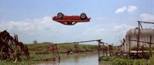 Cascade de voiture