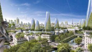 Paris dans un futur utopique