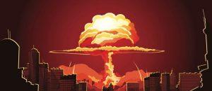 Bombe nucléaire sur la ville